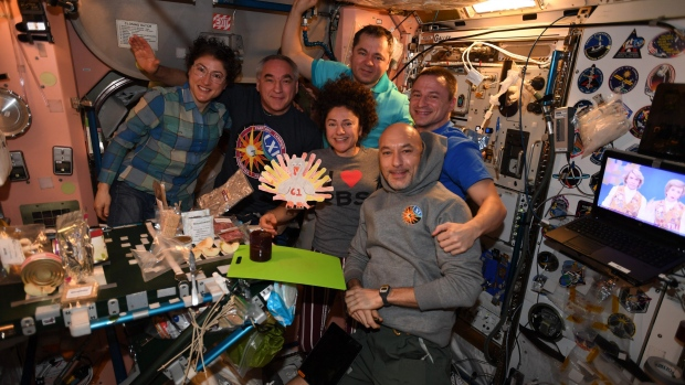 This is how astronauts celebrate Thanksgiving and other holidays in space