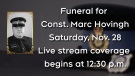 Full coverage of Const. Marc Hovingh's funeral