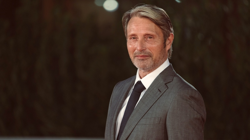 Mads Mikkelsen pictured at a film festival in Rome on October 20, 2020. (Luca Carlino/NurPhoto/Getty Images)
