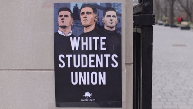 A 'white students' union' wants to set up a chapter at McGill University