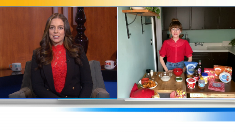 Safeway Food Expert and CTV's Mary Berg joins us to share some appie and snack recipes for the holidays