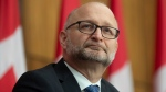 Justice Minister David Lametti is seen during a news conference in Ottawa, Thursday November 26, 2020. THE CANADIAN PRESS/Adrian Wyld