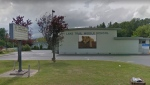 The school is located at 805 Willemar Ave. in Courtenay. (Google Maps)