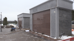 140 new plots are becoming available at a Holy Sepulchre Cemetery mausoleum in Sault Ste. Marie. Nov. 25/20 (Christian D'Avino/CTV Northern Ontario)