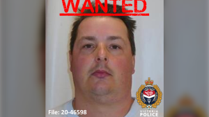 Police are searching for Jason Soukochoff, 40, who is wanted on a Canada-wide warrant: (VicPD)