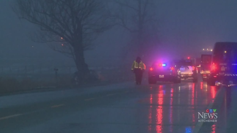 Police still investigating fatal Wellesley crash