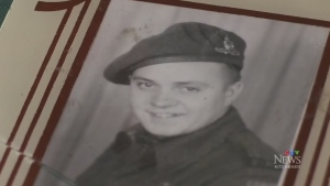 Soldier's letter returned to the writer's family
