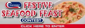 Festive Seafood Feast Contest Button