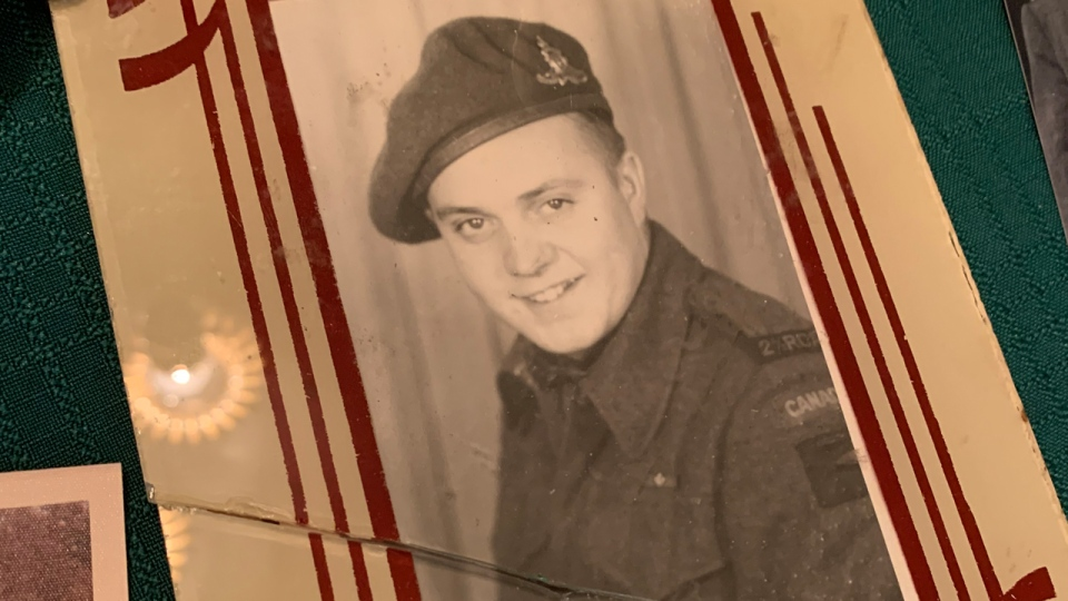 A photo of a soldier