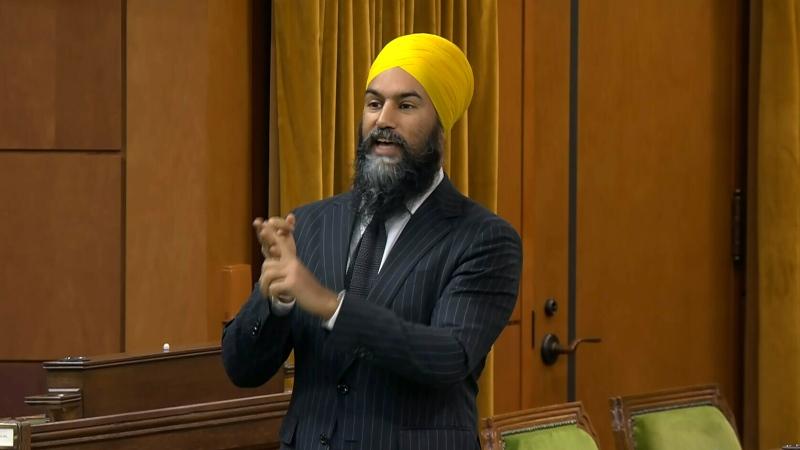 NDP Leader Singh