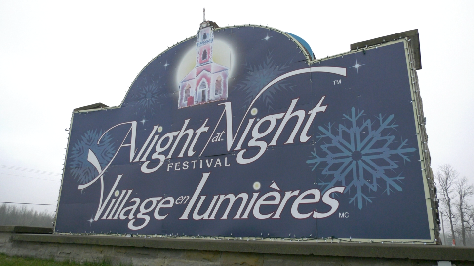 Alight at Night at Upper Canada Village opens on Friday, Nov. 27. (Nate Vandermeer/CTV News Ottawa)