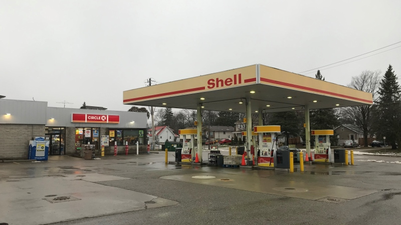 Circle K located on Westmount Road in Orillia (David Sullivan/CTV News)