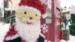 William Johansen's Santa mailbox. (Matt Marshall/CTV News Edmonton)