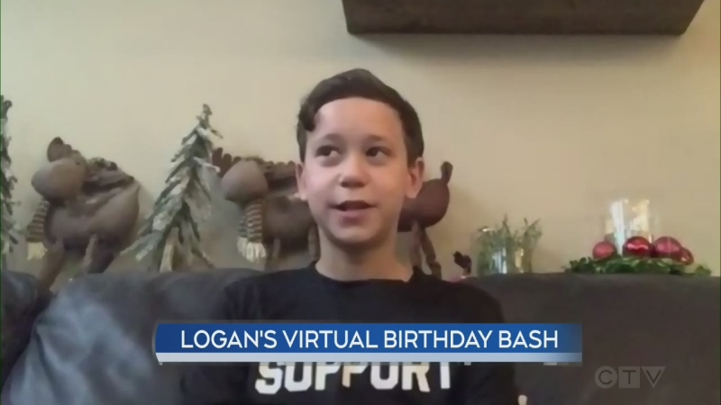 Logan's Virtual Birthday Bash