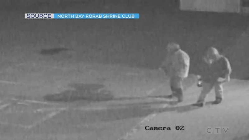 North Bay Police are looking into a theft of charity Christmas cookies at the Rorab Shrine Club that were meant to support local kids.