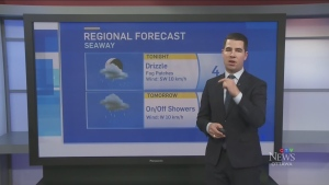 Thursday 6 p.m. weather update