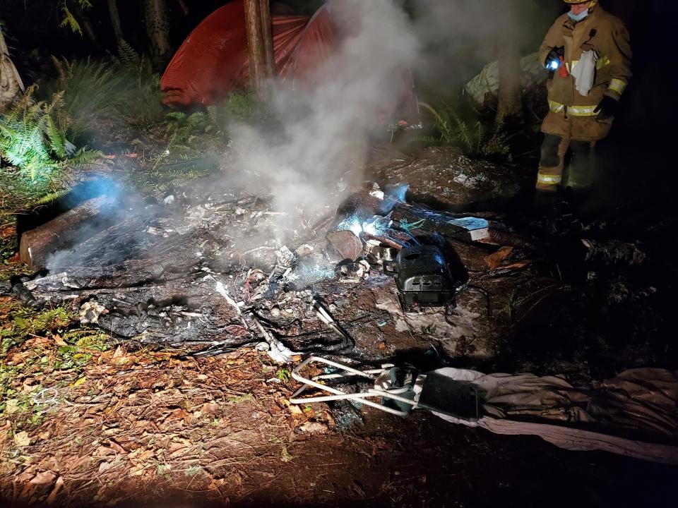 mark's park fire