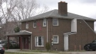 Delta Chi fraternity in Windsor, Ont. on Thursday, Nov. 26, 2020 (Bob Bellacicco/CTV Windsor)