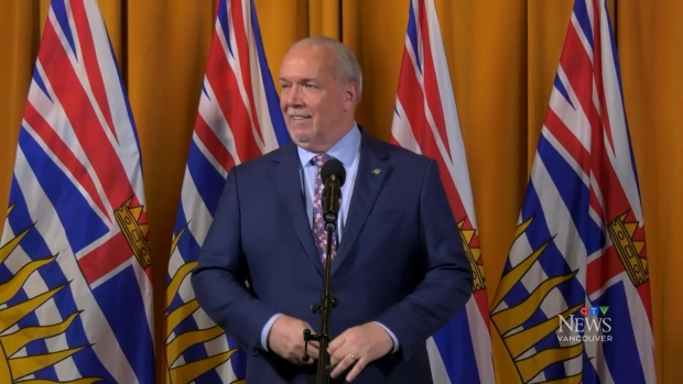 Ex-military doc named B.C. vaccine czar as premier mulls asking for more doses