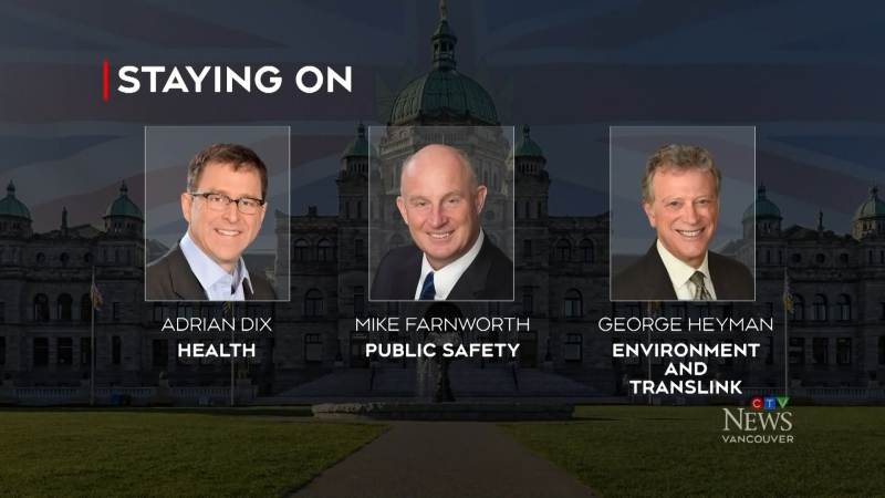 NDP government unveils new cabinet