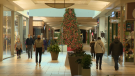 Shopping malls in Calgary are expecting a surge of Black Friday shoppers but, as a result of the pandemic, nothing rivaling the numbers of previous years (file)