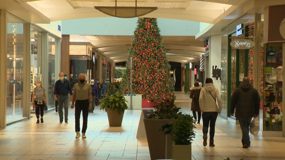 Shopping malls in Calgary expected a surge of Black Friday shoppers but, as a result of the pandemic, nothing rivaling the numbers of previous years (file)