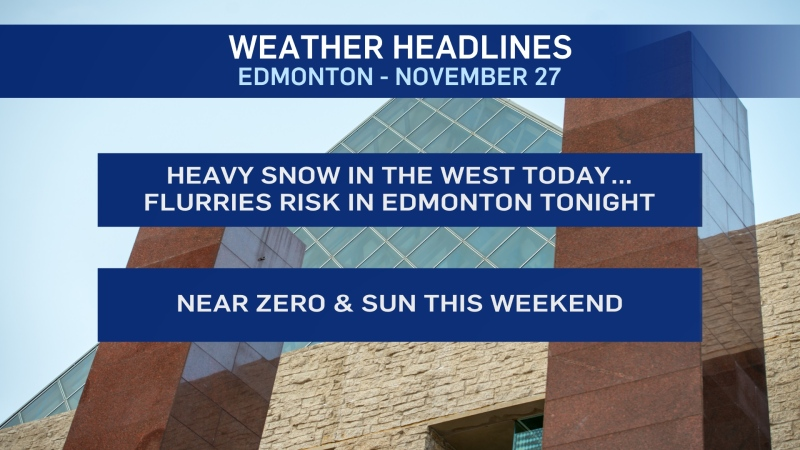 Nov. 27 weather headlines