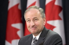 Minister of Justice Rob Nicholson is seen during a news conference in Ottawa, Friday Oct. 23, 2009. (Adrian Wyld / THE CANADIAN PRESS)