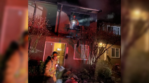 North Vancouver fire