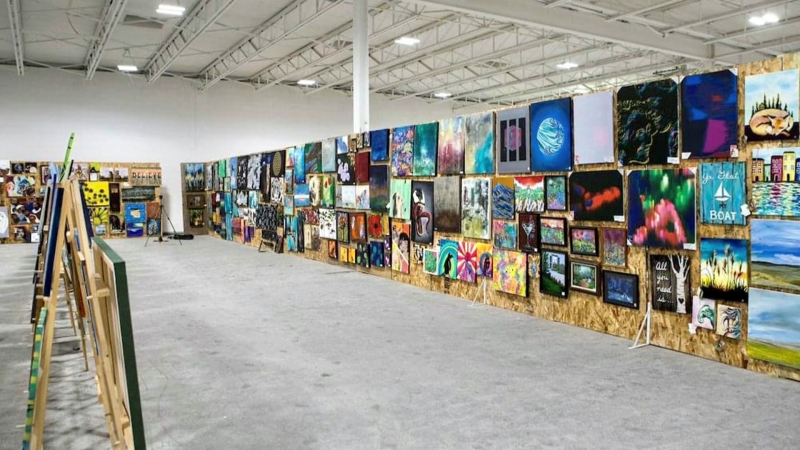"We preview the annual ""Under $100 Art Show"" that's happening virtually in Calgary"