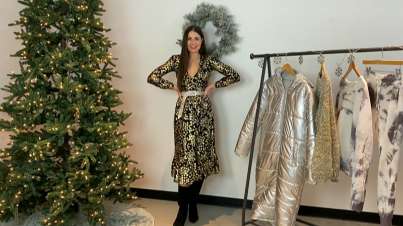 Erica Wark, holiday fashion