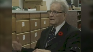 Harold Hague is pictured in this photo from the CTV News Archives.