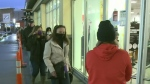 Shoppers line up for Black Friday