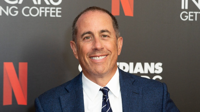 "In this Wednesday, July 17, 2019, file photo Jerry Seinfeld attends the ""Comedians In Cars Getting Coffee,"" photo call at The Paley Center for Media, in Beverly Hills, Calif. (Willy Sanjuan/Invision/AP, File)"