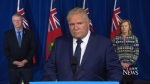 Ontario Premier Doug Ford on Nov. 27, 2020. (CTV News)