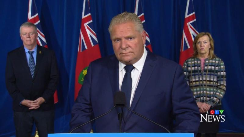 Ontario Premier Doug Ford on Nov. 27, 2020. (CTV News)
