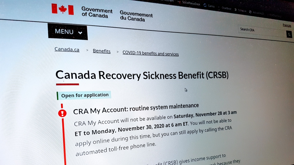 Canada Recovery Sickness Benefit (Gov't of Canada)