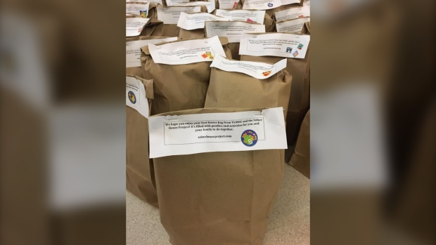 Prince Albert, Cumberland House youth deliver gift bags promoting sobriety
