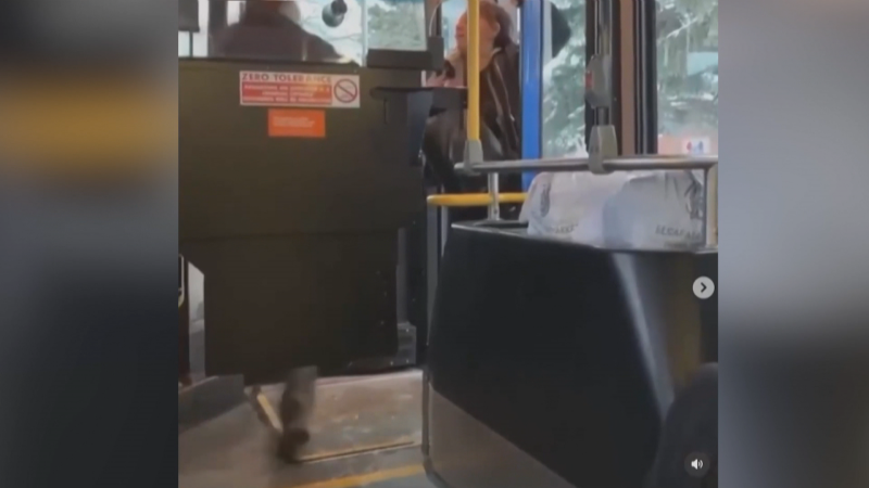 ETS bus altercation