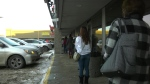 Customers have been lining up outside the Sherwood Park Bakery all week.