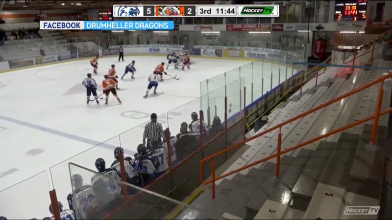 The Canmore Eagles junior hockey team is in isolation after 16 members tested positive for COVID-19.