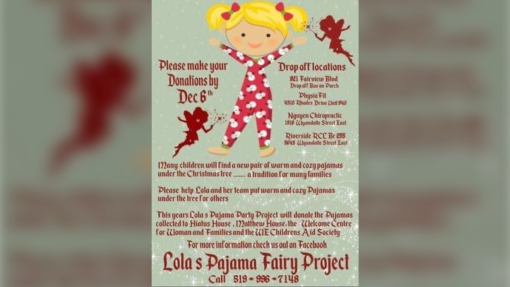Lola's Pajama Fairy Project