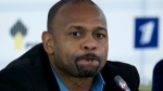 Roy Jones Jr. attends a news conference after picking up his Russian passport in Moscow. Jones and Mike Tyson are older, wiser, calmer men than the superstars who dominated their sport. (AP Photo/Ivan Sekretarev, File)