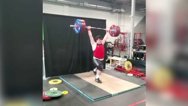 Max von Muehldorfer Calgary weightlifter