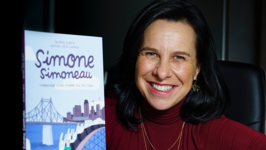 Montreal Mayor Valerie Plante and her new book