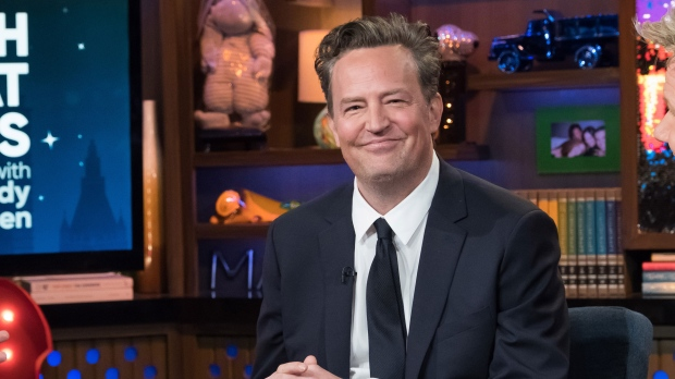 Matthew Perry is engaged to 'the greatest woman on the face of the pla... image