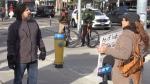 Anti-lockdown protest scarce in Waterloo