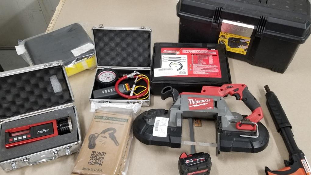 Nanaimo tools found