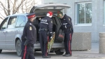 Lethbridge police collected toys for charity on Saturday.