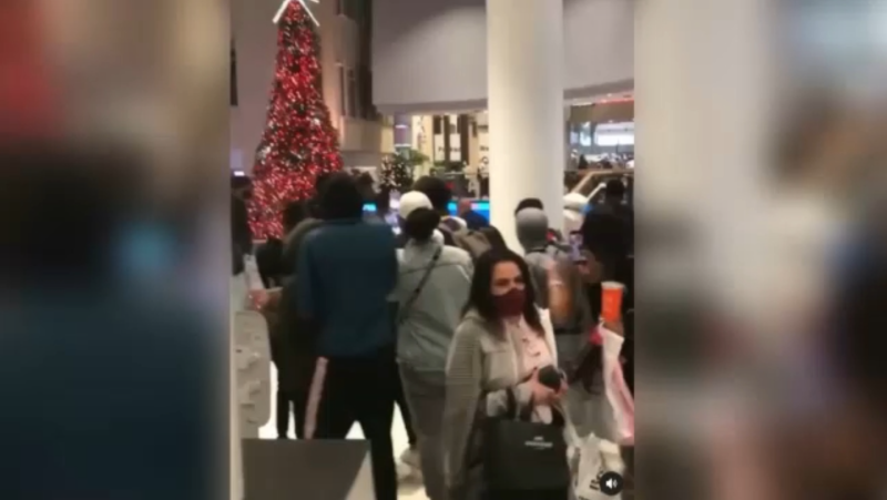 Chinook Centre fight